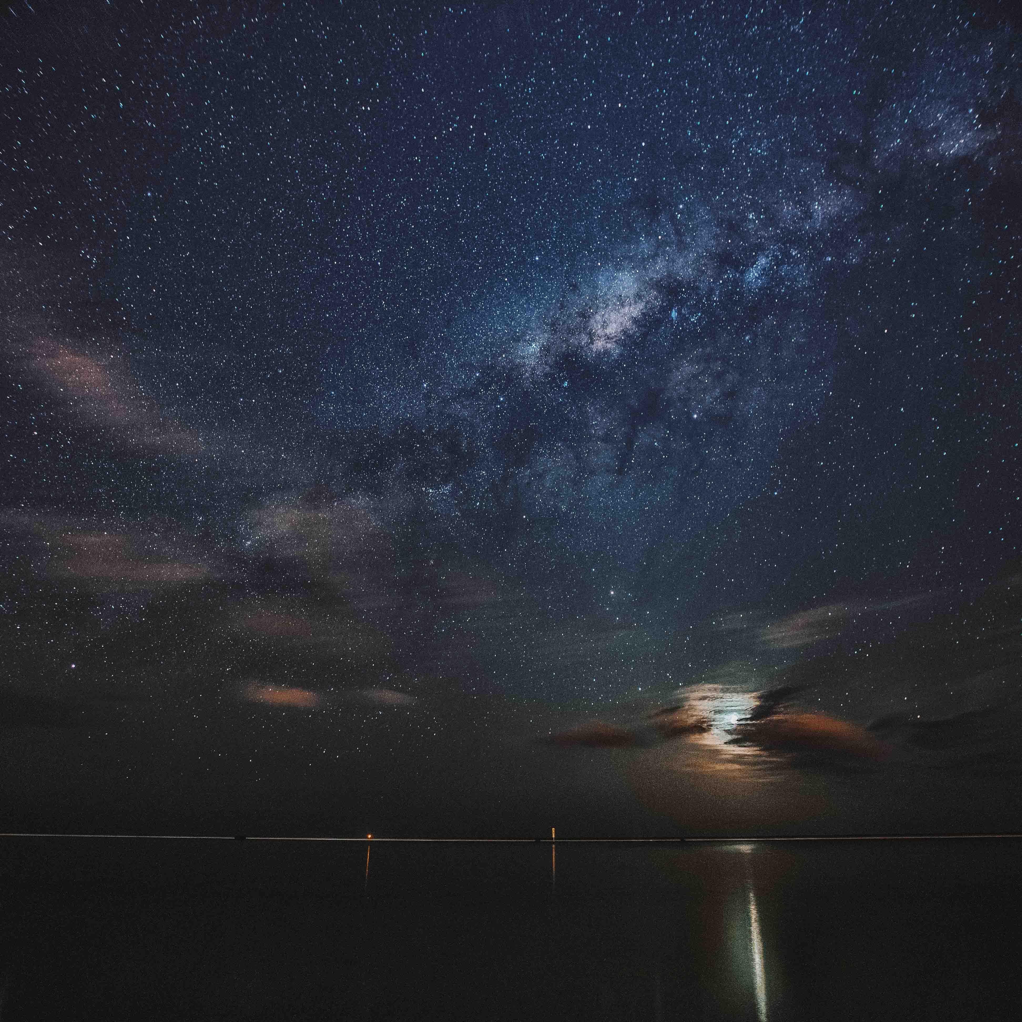 Voie Lactée sur le lagon