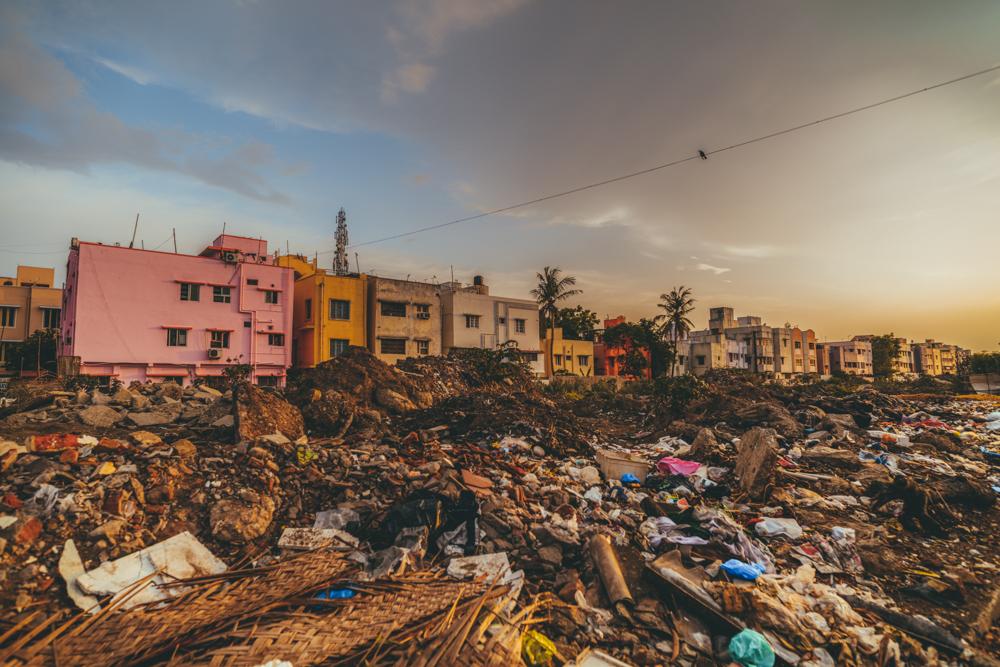 Quartier résidentiel, Chennai Tamil Nadu